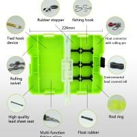 10in1 Fishing Toolkit Set Pancing Kotak Simpan Bagus Alat Hobi Mancing