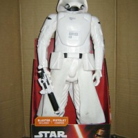 Jual Snowtrooper First Order Stormtrooper Super Big Vinyl Star Wars Figure Murah