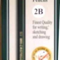 Pensil 2 B Pencils Potlot Faber Castell Isi 12 Buah Pieces
