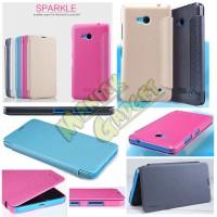 harga Jual Flip Leather Case Nillkin Microsoft Lumia 640 Sparkle Murah Tokopedia.com