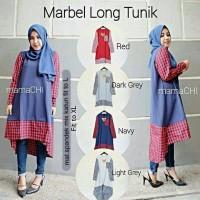 harga Baju Atasan atau Blouse / Baju Muslimah / Marbel Long Tunik Tokopedia.com