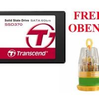 Transcend SSD SATA III 6Gb / S SSD370 256GB Premium + Gratis Obeng Mini