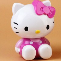 Rautan Pensil 9502 - Hello Kitty Pink