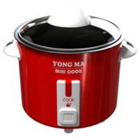 Yong Ma Magic Com 2 IN 1 Mini Cook MC-300 Merah
