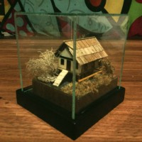 miniatur rumah adat banda aceh