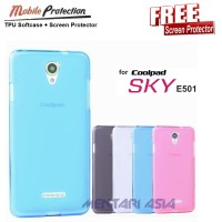 Softcase For Coolpad Sky E501 ( + Free Sp)