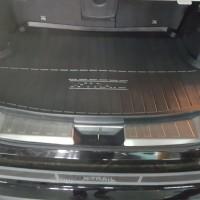 Nissan Xtrail 2015+ Oem Inner Rear Bumper Sill Scuff Plate Pintu bagas