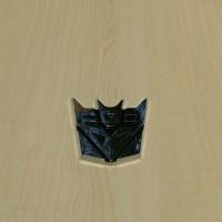 Jual Emblem Transformers Chrome Decepticon Murah