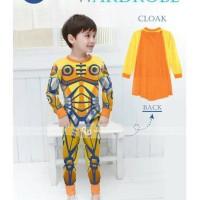 Piyama Gw 141 D. Robot Gundam Kuning + Sayap