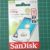 harga Memory Card Sandisk Ultra 32gb 32 Gb Class 10 Micro Sd Original Tokopedia.com