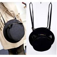 tas zara mango charles & keith selempang hand tote bags hitam black pu