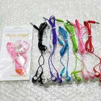 HF Headset Handsfree Earphone Music Angel Mp3 Lagu Murah Surabaya