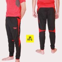 Celana Olahraga Panjang Jogger Gym Fitness Lari Futsal Nike T90 #809
