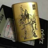 ZIPPO JAPAN GUAN YU GOLD 2-SIDE
