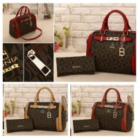 tas import wanita 2 in 1 bonia/ fashion bag