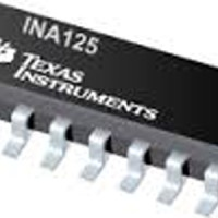 INA125 Instrumentation Amplifier with Precison Voltage Reference