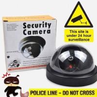 harga Kamera Cctv Dummy / Fake Security Camera / Kamera Palsu Dome Cctv Tokopedia.com
