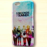 5 second of summer cute galaxy hart case iphone case dan semua hp