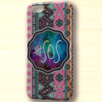 5 second of summer chevron hart case iphone case dan semua hp