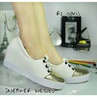 harga Sneakers Wedges Karay White Tokopedia.com