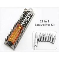 Obeng Set / 28 Pcs Precision Screwdriver Set Case
