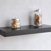 harga floating shelf / ambalan / rak dinding minimalis ukuran 15x40 Tokopedia.com