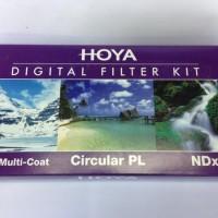 HOYA Digital Filter Kit 55mm (UV + CPL + NDx8)