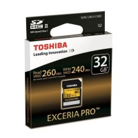 Toshiba SD Card Exceria Pro UHS-II (R260MB / S & W240MB / S) - 32GB