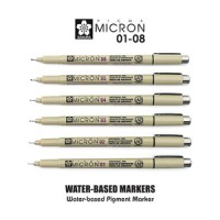 Jual SAKURA Pigma Micron Pen / Drawing Pen Merk Mikron Murah