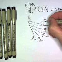 Jual SAKURA Pigma Micron Pen 005 Murah
