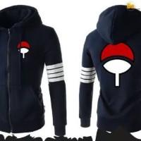 Jual Jaket sweater karakter anime naruto uchiha sasuke Murah