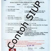 SIUP (Surat Ijin Umum Perdagangan) Kota bekasi Bekasi Selatan, Bekasi