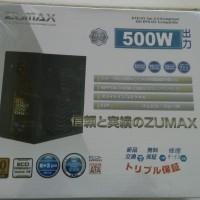 Power Supply Zumax Power ZU500 - 500W - 80+ Bronze Certified