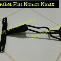 Aksesoris Braket Breket bracket dudukan plat nomor depan NMAX
