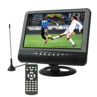 7.5 Inch TFT LCD Portable TV / TV Mini Support USB, FM Radio, SD Card