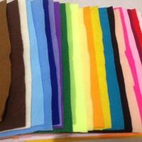 Paket kain flanel murah warna campur warna warni/ lembaran flanel craf