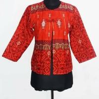 harga bolero batik size M. motif songket A Tokopedia.com
