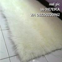 harga karpet bulu domba imitasi Tokopedia.com