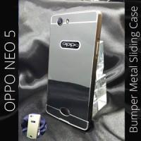 harga Oppo Neo 5 Neo5 Bumper Metal Case Sliding Cover A31T R1201 Aksesoris Tokopedia.com