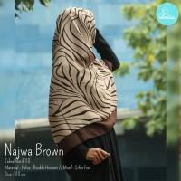 Jilbab / Hijab / Kerudung / Khimar Elmina Zahra motif - Najwa