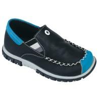 Sepatu Casual Slip On Anak Laki-Laki | Hitam - Catenzo Junior CBU 189