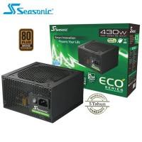 PSU Seasonic ECO 430W 80Plus Bronze EU - Black Coating - Resmi