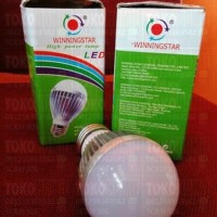 LED WINING STAR / HIGH POWER LAMP / LAMPU LED