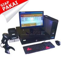 Paket Kasir | PC Kasir | Komputer Kasir | Mesin Kasir - Fullset_1