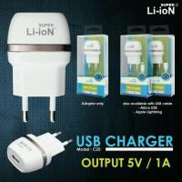 Charger Super Li-ion Iphone 5 Original TC Li-ion 5V 1A