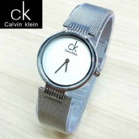 Jam Tangan Wanita Calvin Klein / Jam Tangan CK Rantai Silver