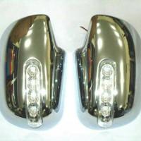 Cover Spion Rush / Terios Full Chrome + Lampu