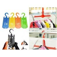 Magic Hanger Gantungan Baju Pakaian MultifungsI, Hanger Lipat, Gantungan