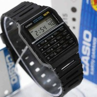 Jam Tangan Casio CA 53 Calculator Original / CA53 Kalkulator