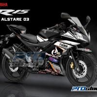 harga STIKER MOTOR YAMAHA R15 VARIASI MOTIF ALSTARE STRIPING R15 PROSTIKER Tokopedia.com